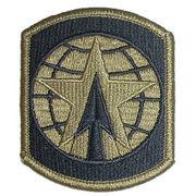 ミリタリーパッチ US ARMY ミリタリーポリス ブリゲイド OD