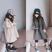 2019秋冬新作韓国ファッションロング丈 普段着 長袖 子供コート 日常用 男の子 女の子