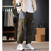 【大きいサイズM-5XL】ファッション/人気パンツ♪ブラック/グリーン2色展開◆