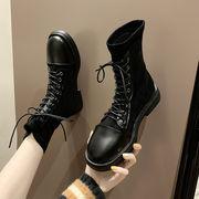 ブーツ 女ブーツ 秋と冬 新しいデザイン 何でも似合う マーティンブーツ 女性英国スタイ