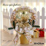 クリスマス雑貨 卓上 ミニ 小道具 装飾 飾り 玄関に きらきら クリスマス飾り 置物