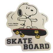 【デコシール】スヌーピー ダイカット ステッカー スケートボード
