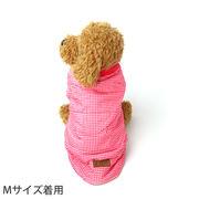 犬 服 犬服 犬の服 ダウン風 コート チェック柄 ジャケット ドッグウェア