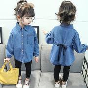 新作 韓国子供服 キッズ 子供服 ベビー服 女の子 赤ちゃん服 デニム 上着