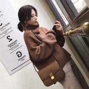 4色 推薦デーリー・ウェア 気質 韓国ファッション 秋冬 小さな新鮮な セーター 女性 ゆったり