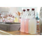 KILNER(キルナー)/ スクエアクリップボトル 500ml
