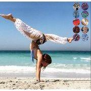 ヨガパンツ スポーツパンツ ランタンパンツ 練習パンツ 運動パンツ ダンスパンツ ワイドレッグパンツ