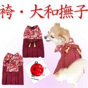 【犬服】日本製 七五三や卒業式に最適!袴・大和撫子(S・M・L・2L・MD-M)