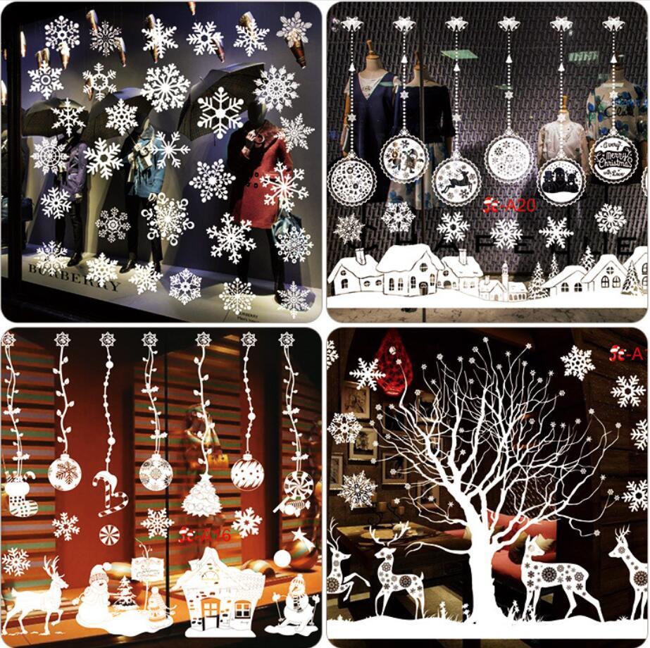 クリスマス 飾り 静電ステッカー 剥がせる 静電気シール  壁飾り 小物 部屋 装飾品  窓飾り