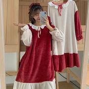 第1 番 ピープル ホーム 秋 女性服 年 新しいデザイン 複数色 ナイトドレス 手厚い