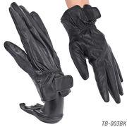 【本革メンズ手袋】 ラム皮レザーグローブ 秋冬 紳士テブクロ 革手袋 TB-003