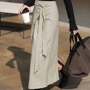 韓国ファッション ロングタイトスカート