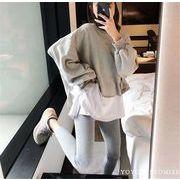 韓国ファッション シャツ カーデ アンサンブル