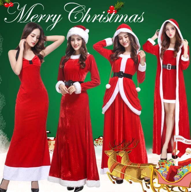クリスマス衣装 レディース 153# 156# 157# 129# コスプレ衣装 サンタ コスチューム