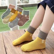 キッズ靴下 ベビー靴下 子供ソックス 格安ソックス コットン靴下 5足セット 同梱でお買い得 暖かい