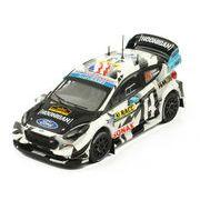 ixo/イクソ フォード フィエスタ WRC 2018 ラリーRACCカタルーニャ #43 K.Block / A.Gelsomino?