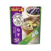 AMANO FOODS アマノフーズ 減塩うちのおみそ汁 なす5食 8.5gx5 x6 *