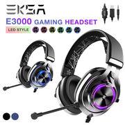 EKSA E3000 ゲーミング ヘッドフォン ヘッドセット ゲーム用 7.1サラウンド