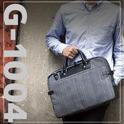 カジュアル、ビジネスでも合う 優秀収納ポケット豊富なBAG