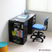 【7/中】学習机 ツインデスク用デスク単体 ブラウン 入学式 JSD-485-DBR