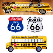【R66 & School Bus】American Floor Mat