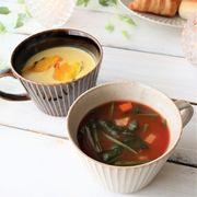 【華蝶扇】スープカップ[日本製 美濃焼]