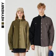 シャツ ジュアル  メンズ レディース カップル 2WAY袖 男女兼用 SALE 2019秋冬新作 ファッション