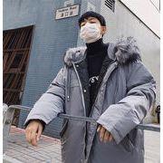 「高品質・即納」 中・長セクション 2019新 冬 コート タイド 韓国 怠惰な風 カレッジ風 ダウンコート