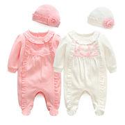 赤ちゃん ベビー ロンパース トップス 出産お祝い オールインワン 新生児 韓版子供服