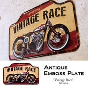 アンティークエンボスプレート Vintage Race★