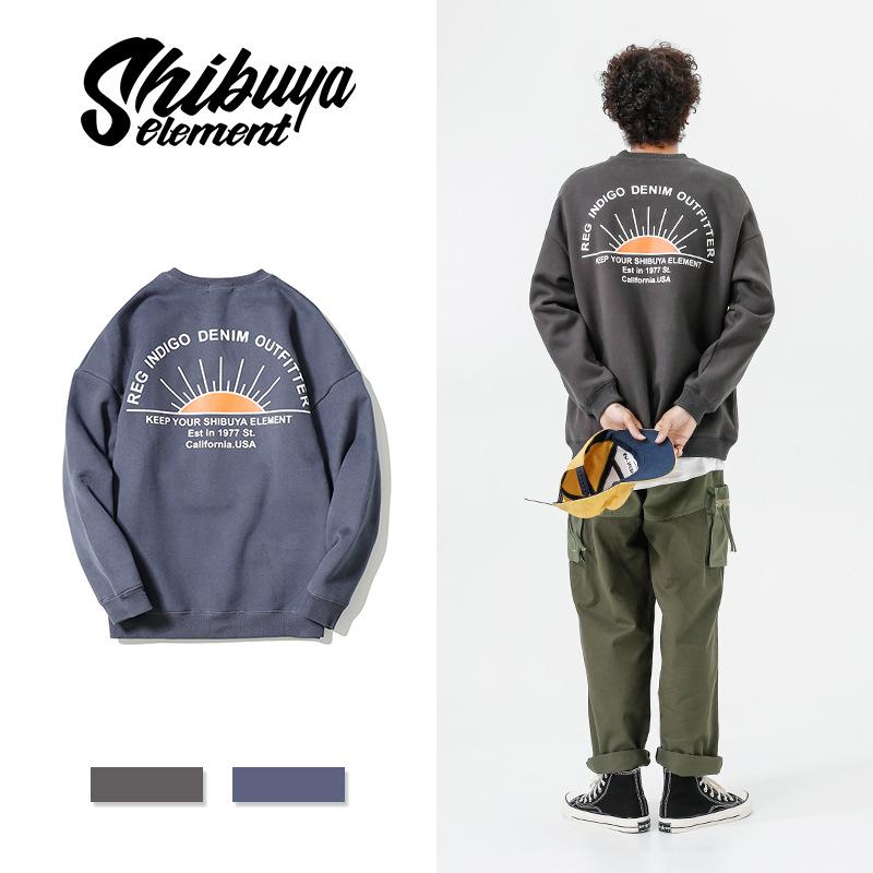 ジャケット ラウンドネック メンズ プリント ジュアル 厚手 SALE 2019秋冬新作 ファッション
