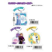「ディズニー」アナと雪の女王2 キャラクターイニシャルキーホルダー