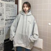 秋冬新作 731932大きいサイズ 韓国 レディース ファッション 裹起毛   パーカー   LL-4L