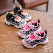 女児 靴 冬 新しいデザイン 少女 靴 二 コットン靴 秋 児童 裏起毛 男児 スポーツ