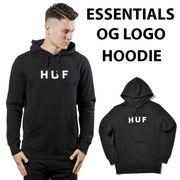 【HUF】(ハフ) ESSENTIALS OG LOGO HOODIE / オリジナルロゴ かぶり パーカー