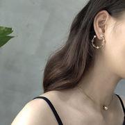 【即納】韓国アクセサリー スターイヤリング