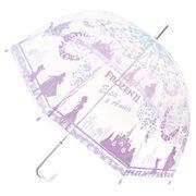アナと雪の女王2 ビニール傘 長傘 雨傘 レディース傘 アンブレラ ビニ傘 ディズニー