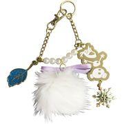 【キーホルダー】アナと雪の女王2 ボンボン付き バッグチャーム