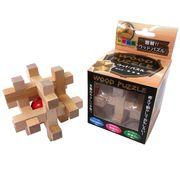 <おもしろバラエティ雑貨><脳トレグッズ>木製パズル G No.209-526