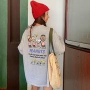 春夏新作 732184大きいサイズ 韓国 レディース ファッション    Tシャツ   LL-4L