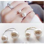 素敵★可愛いリング★アクセサリー★女性の指輪★真珠