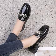 英国スタイル 小さな靴 女 春 新しいデザイン ネット レッド ファッション 何でも似合