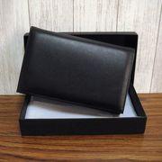 【本革財布】化粧箱入り カードホルダー付き財布