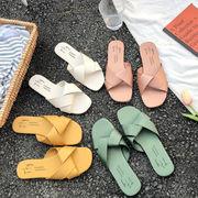 2020新作 スリッパ 靴 フラット 外出 レディース ファッション 韓国