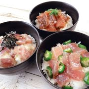 まぐろ惣菜丼 詰合せ DON-3p(代引不可・送料無料)
