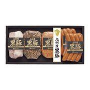日本ハム 九州産 黒豚ギフト NO-40(送料無料)【直送品】【NP便】