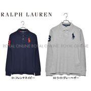 S) 【ポロ ラルフローレン】 323703636 ポロシャツ ビッグポニー 長袖ポロシャツ 全2色 メンズ