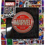 【ピンバッジ】MARVEL COMICS ピンズ 80years-B