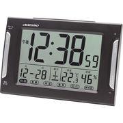 アデッソ ダブルアラーム電波時計 DA-33