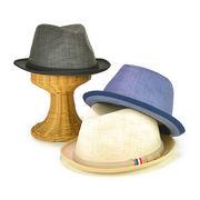BIGSIZEトリコテープカスリマニッシュハット ヤング帽子